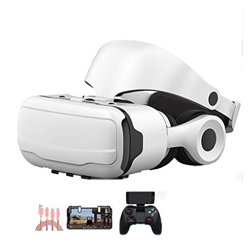 Lowest Prices! AYI 3D VR Glasses, Head-Mounted Virtual Reality Glasses, Suitable for 4.7-6.0 inches ...