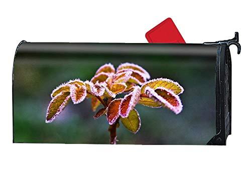 prz0vprz0v Mailbox Covers Magnetische Plant Voordeur Decor 21 x 18 Inch Waterdichte Canvas Mailbox Cover