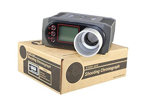 FIRECLUB Hochleistungs-Geschwindigkeitsprüfer X3200 BB Shooting FPS Joules Chrono Chronograph