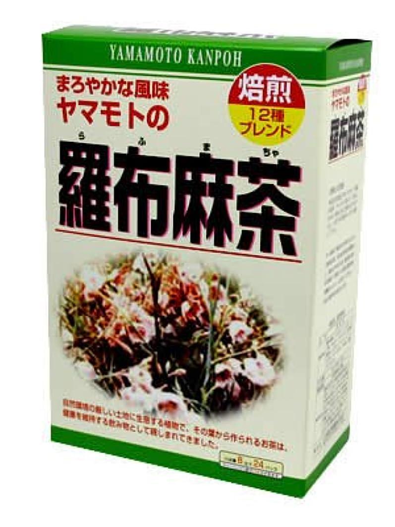 群衆影のあるおじいちゃん山本漢方製薬 羅布麻茶 8gx24H