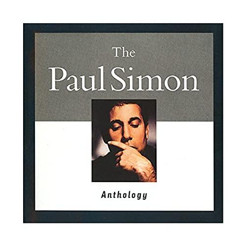 Paul Simon - Póster de la antología de Paul Simon, para decoración de pared, para sala de estar, dormitorio, decoración, 50 x 50 cm