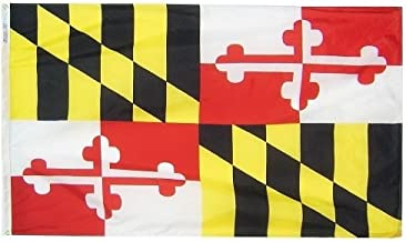 product image for All Star Flags 5x8' Maryland Nylon State Flag - All Weather, Durable, Outdoor Nylon Flag