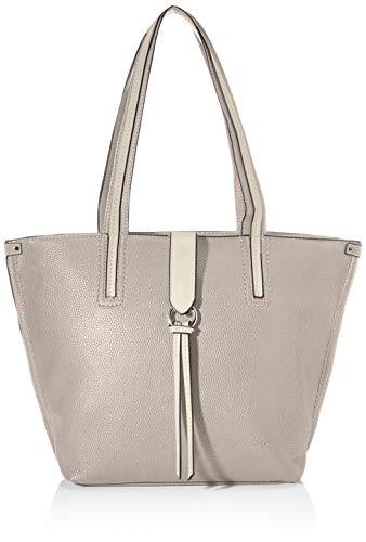 Gabor Shopper Damen, Grau, Buena, 43x13x29 cm, Handtasche groß, Umhängetasche