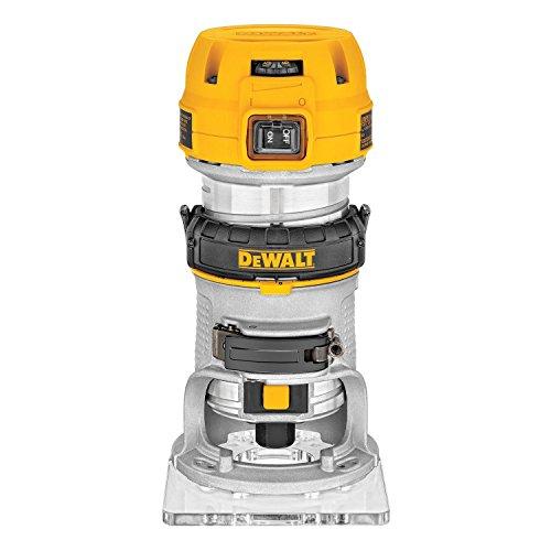 Dᴇ WALT Elettrofresatrice Compatta a Base Fissa, 8 mm, 900 W