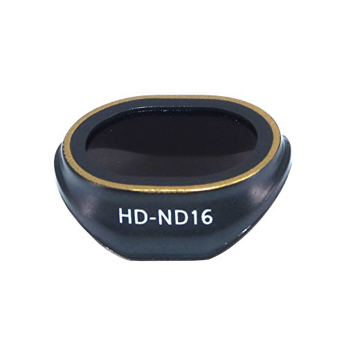 PENIVO Spark nd Filter, Camera Lens Filters kit Neutral Density ND16 Filters for DJI Spark Drone Accessories (Won t Affect Gimbal Calibration)