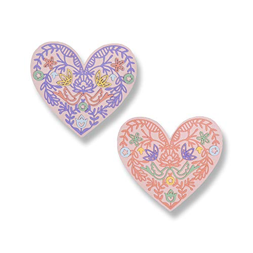 Sizzix Thinlits Troqueles 10PK Corazón encaje