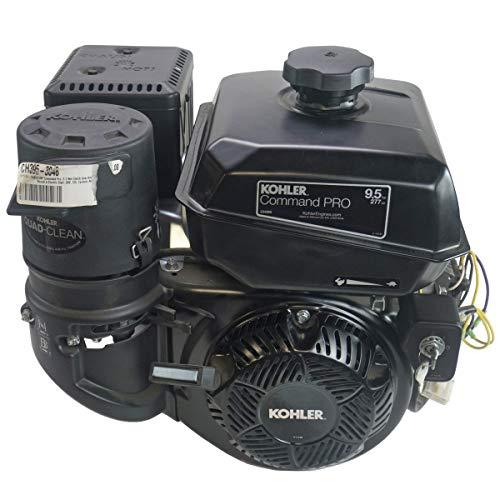 Kohler 9.5hp Command Pro Engine, 2:1 Wet Clutch Gear Reduction Horizontal 22mm Shaft, Recoil + Electric Start, 18 Amp Alternator, Cyclonic Air Filter