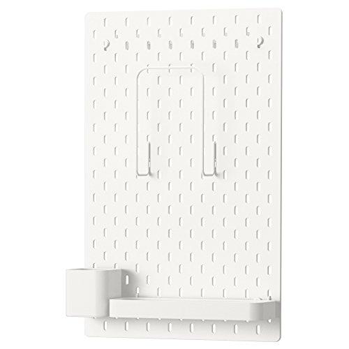 Skadis Combinación de IKEA - Tablero, blanco 56x36 cm