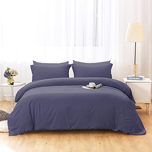 Duvet Covers Queen Size - Ultra Soft and Breathable Bedding Comforter Cover