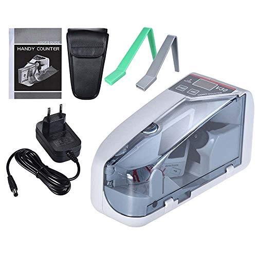 Mini Money Geldzählmaschine Wechselstrom oder batteriebetrieben Handy Bill Cash Banknotenzähler Kompakte Banknotenzählmaschine mit LED-Anzeige