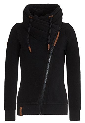 Naketano Female Zipped Jacket Jüberagend, Schwarz, Gr. S