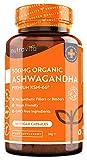Ashwagandha Bio 500mg - Puro ed Alta Qualità KSM-66 Senza Riempitivi - Integratore Vegano Naturale...