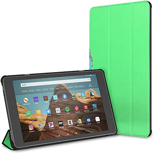 Estuche para Tableta Parrot Play Skateboard Fire HD 10 (9.a / 7.a generación, versión 2019/2017) Estuche para Tableta Fire HD 10 Estuche para Tableta HD 10 Auto Wake/Sleep para Tableta de 10.1 pulg