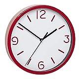 TFA Reloj de Pared electrónico Rojo de 200 mm