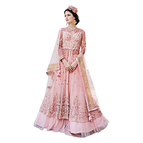 ETHNIC EMPORIUM Damen Bollywood Trauung Lange Gewohnheit misst 904 Anarkali Salwar Anzug Muslim-Brautkleid-Kleid Ethnic 43481 Wie gezeigt