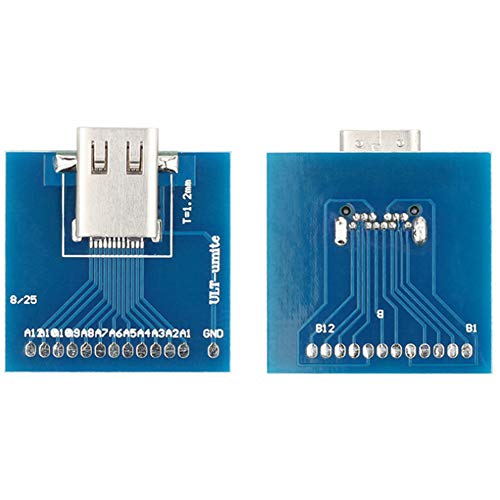 Multi-Schnellladekabel und Computer PC-Platine USB 3.1 Typ-C Buchse Test Stecker Stecker Adapter kompatibel mit den meisten Smartphones Auto Ladegerät Anschluss