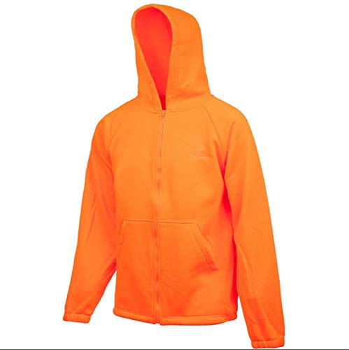 Huntworth Blaze Orange Front-Zip Jacket