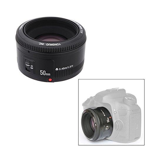 YONGNUO YN EF 50mm f/1.8 AF Lens 1:1.8 Standaard Prime-lensdiafragma Auto Focus Voor Canon EOS DSLR camera's