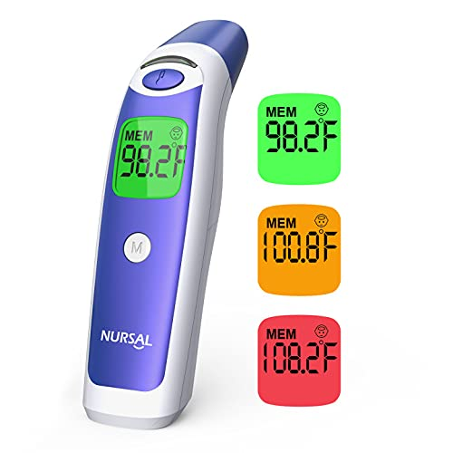Digital Forehead Ear Bargain sale Thermometer for Adults NURSAL Lowest price challenge Tou and Baby