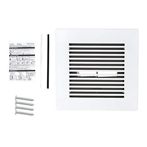 Extractor - Ventilación Cubierta de conductos Rejilla de ventilación de aire Rejilla de techo de pared Extractor de ventilador Forma cuadrada