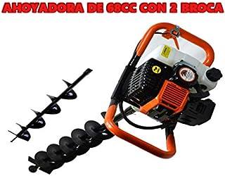 Bracog - Taladro de tierra Ahoyador 68cc 4.4cv +2 brocas 8cm