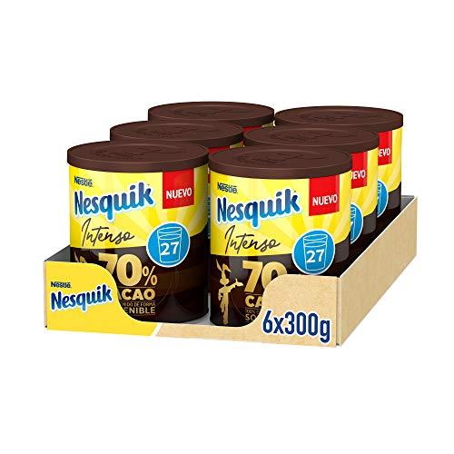 Nestlé Nesquik Intenso 70% Cacao - 6 x 300g