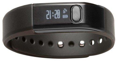 Denver BFA-10BK Fitnessarmband Bluetooth 4.0 (Android/iOS) schwarz