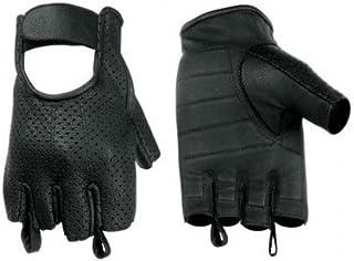 Men's Deersoft Weatherlite Fingerless Motorcycle and Driving Gloves