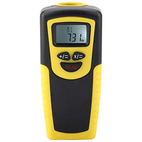 Herramienta de medición de distancia de medición de volumen de área de distancia con pantalla LED de mano, telémetro digital, para decoración del hogar