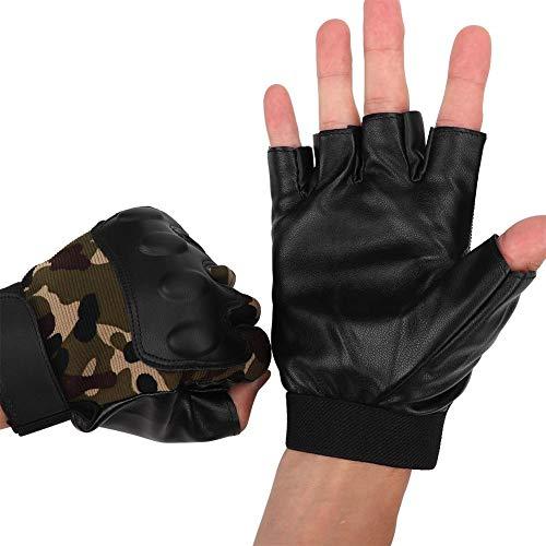 Motorrad Handschuhe, Rennsport Halbfinger Atmungshandschuhe Motorradfahrtraining