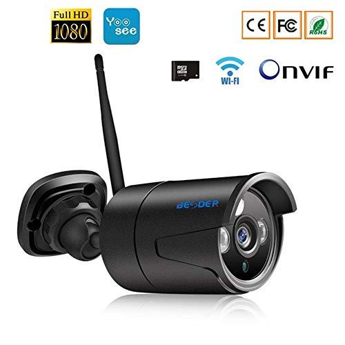 Buy QUARKJK IR Night Vision IP Camera Wi-Fi 1080P 960P 720P Yoosee Outdoor Bullet Security Cameras W...