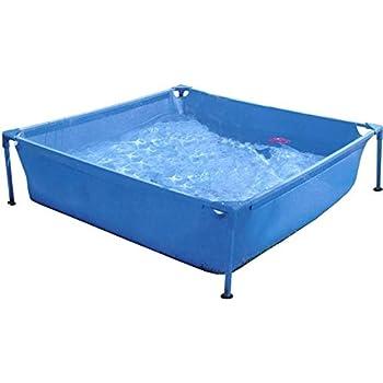 Piscinas Toi 3153 Piscina Infantil Cuadrada, Azul, 120x120x35 cm ...