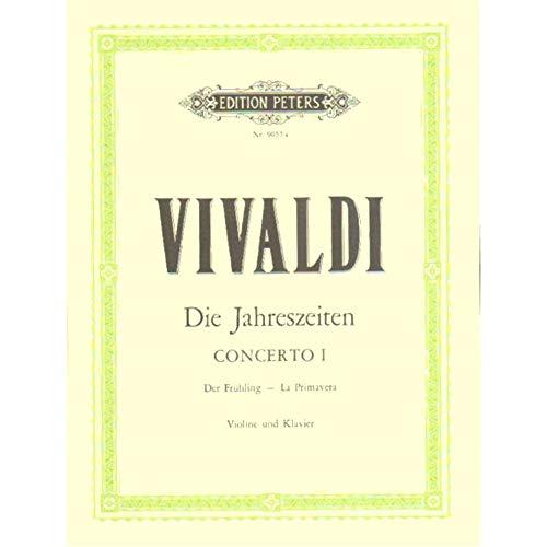 Antonio Vivaldi: Spring (Violin/Piano). Für Violine, Klavierbegleitung