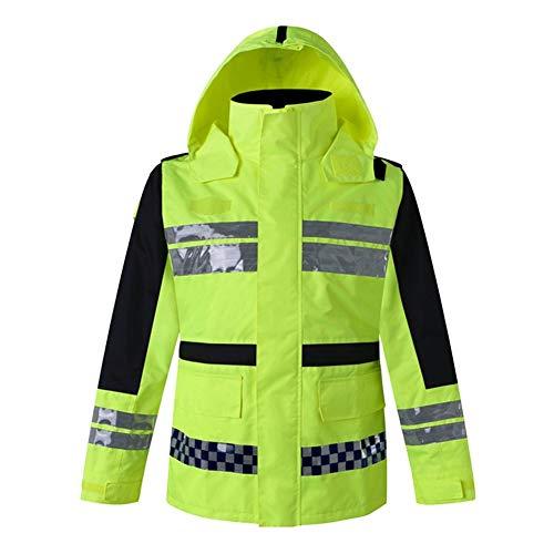 Werkkleding Hi Vis Viz Veiligheid Werkkleding Hi Vis Viz Sweatshirt Oranje Trui Hoodie Mens Zipup Reflecterende Fleece Hoody XXL