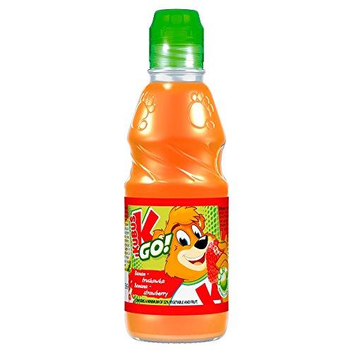 Kubus GO Karotte- Apfel-Banane-Erdbeere-Saft 300 ml