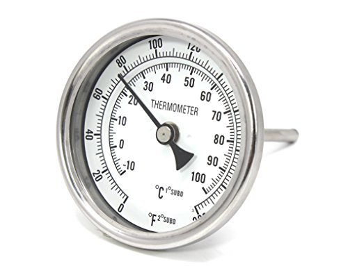 CONCORD 3' Stainless Steel Thermometer for Home...