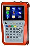 Medidor Tecatel 4K DVB-S/S2, DVB-T/T2, DVB-C + Datos + CCTV