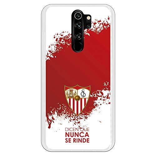 Funda para Xiaomi Redmi Note 8 Pro Oficial del Sevilla FC Sevilla Dicen Que Nunca se Rinde para Proteger tu móvil. Carcasa para Xiaomi de Silicona Flexible con Licencia Oficial del Sevilla FC.