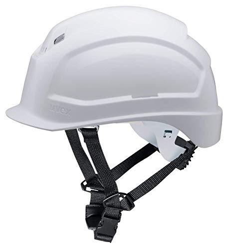 Casco de Obra Pheos S-KR - Protección en el Trabajo - Protección de la Cabeza - Casco de Seguridad con Adaptadores Laterales Euroslot para Orejeras ⭐