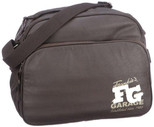 Frankie's Garage Madison Computer Bag darkbrown T11181117B-020 Unisex - Erwachsene Laptop-Taschen, Braun (darkbrown 020), 39x31x15 cm (B x H x T)