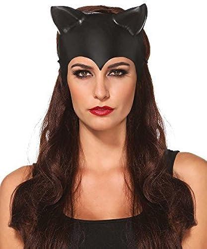 Tienda de moda y compras online. Leg Avenue Moulded Cat Ear Ear Ear Mask (One Talla) by Leg Avenue  alta calidad general
