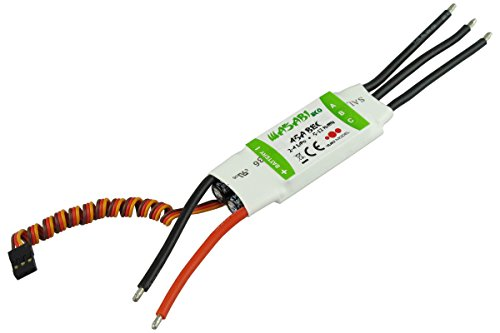 YUKI MODEL 4100245 - Wasabi Eco BL-ESC 45A BEC 3A, Funktions- und Standmodellbau