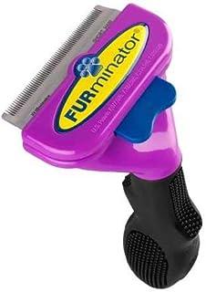 FURminator Deshedding Brush Comb Tool For Short Hair Large Cats