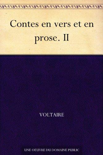 Couverture du livre Contes en vers et en prose. II