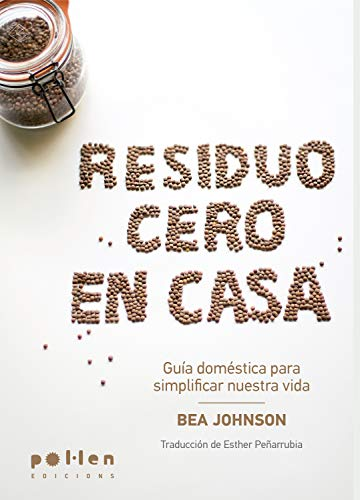 Portada del libro Residuo cero en casa de Bea Johnson