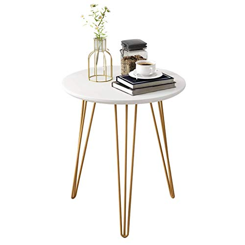 Rivet Triangle Side Table, Sofa End Table,Metal Frame, 3 Colors Nesting Tables (Color : A, Size : 60×60×60cm)