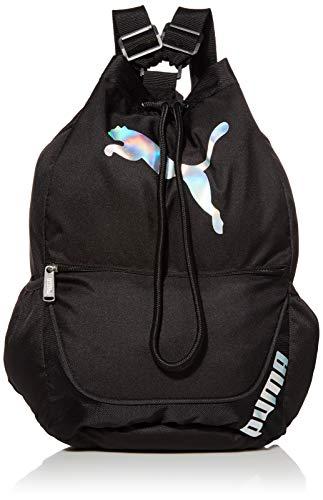 PUMA unisex adult Sack Pack, Black, One Size US
