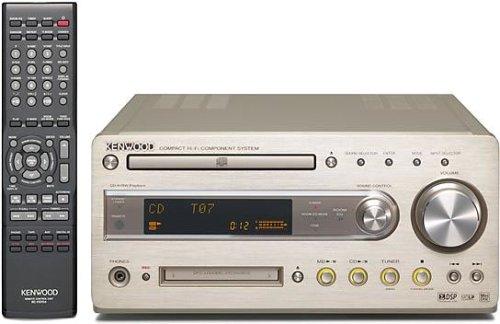 JVCケンウッド CD/MDレシーバー ゴールド R-K700