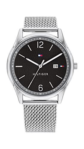 Tommy Hilfiger Analog Black Dial Men's Watch-TH1710438W