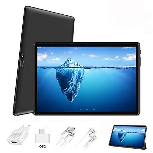 puissant Tablette tactile IPS / HD 10 pouces 4 Go de RAM 64 Go de ROM 4G Android 9.0 Certifié par Google GMS Tablet…